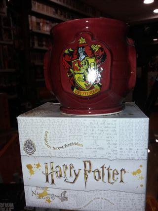 Taza 3D Escudos Casas Hogwarts