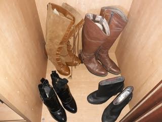 botas mujer 37