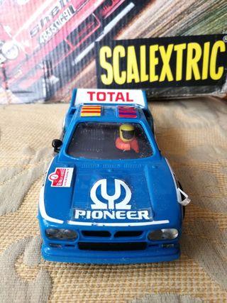 Coche Lancia Rally 037, Scalextric, ref. 4073/4074