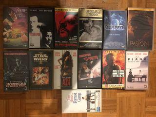 Películas VHS.