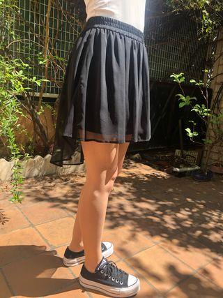 Falda de gasa