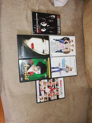 DVD peliculas varias