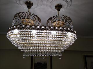Lámparas de cristal de roca