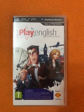 Videojuego para PSP Play English