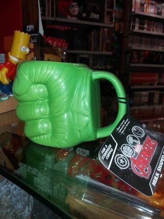 Taza 3D Puño Hulk