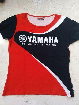 Camiseta chica Yamaha
