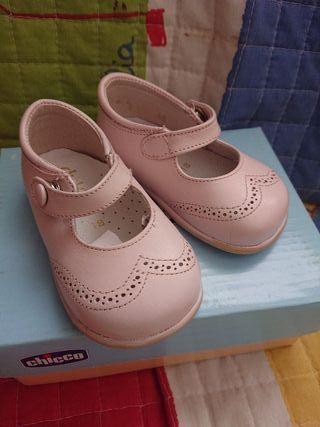 zapato niña 18 piel
