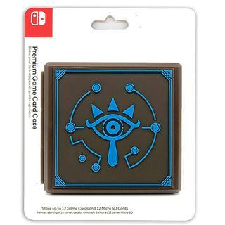 Funda Zelda almacenar 12 juegos Nintendo Switch