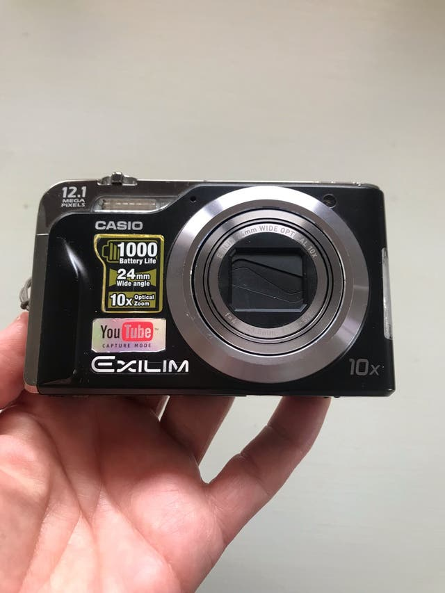 Cámara fotos Casio Exilim