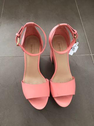 Zapato rosa palo