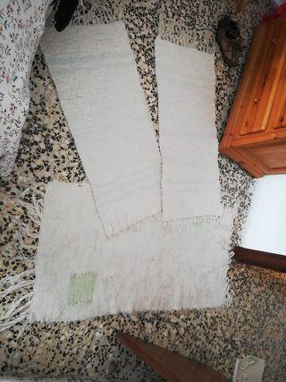 Juego de alfombras de lana