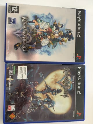Kingdom hearts 1 y 2 ps2 pal españa