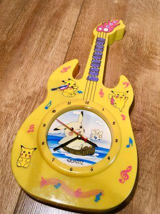 Reloj guitarra Pokemon Pikachu