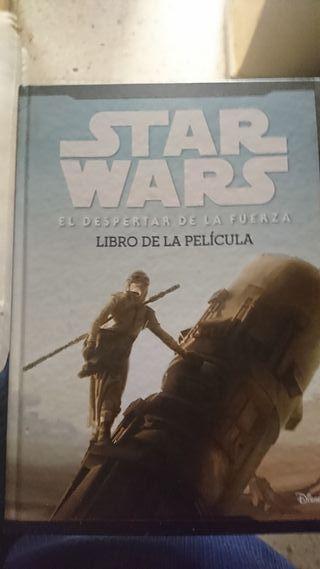 Star Wars El despertar de la fuerza libro