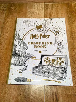 Libro para colorear Harry Potter totalmente nuevo