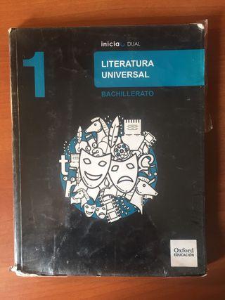 Libro Literatura Universal