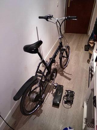 veliac bicicleta eléctrica plegable