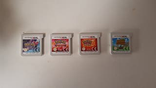 Juegos Nintendo 3DS Pokémon