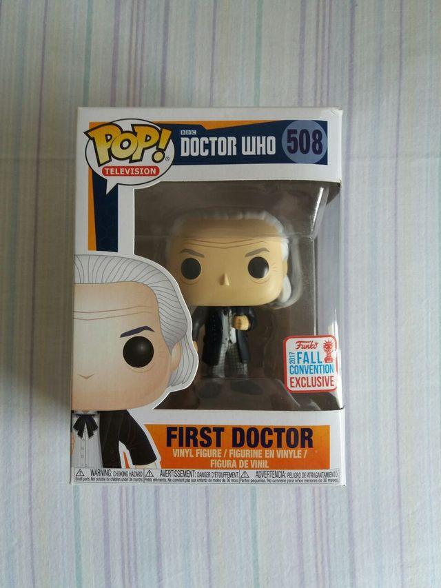 First Doctor Funko Pop!