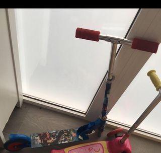 Un Scooter patinete para niño