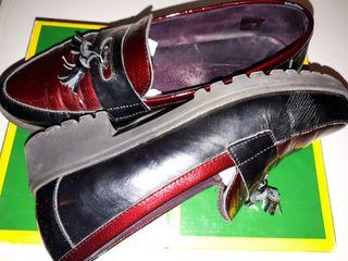 Zapatos de piel de alta calidad Pitillos