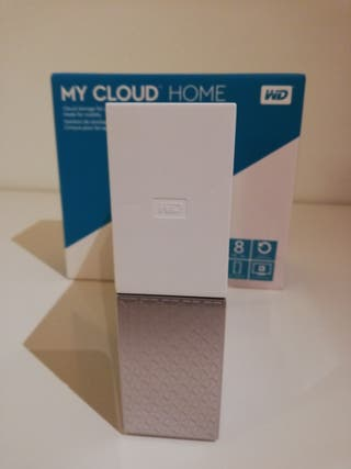 Disco Duro Red NAS WD MY CLOUD HOME 8 TB 8TB Nuevo