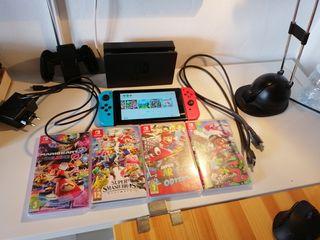 Pack Nintendo Switch+ 6 Juegos