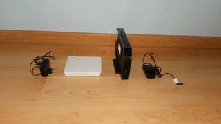 router y antena livebox