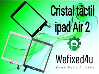 Cristal con Táctil iPad Air 2