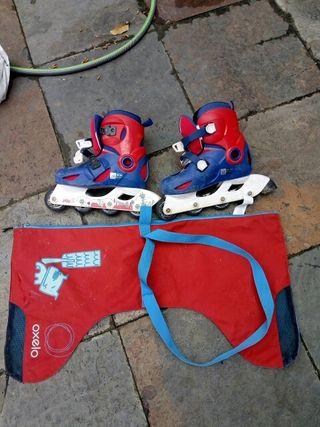 patines en línea para niño
