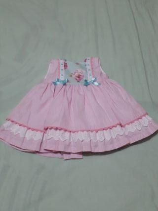 vestido niña primavera-verano