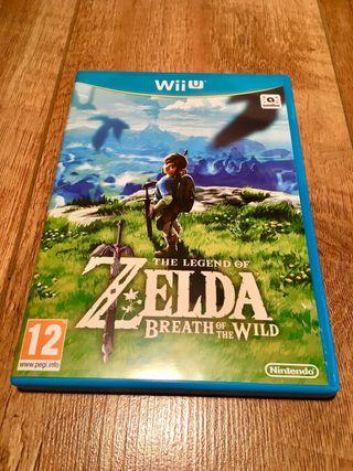 Zelda Breath of the wild Nintendo wii u