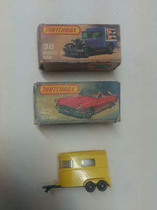 coches Matchbox