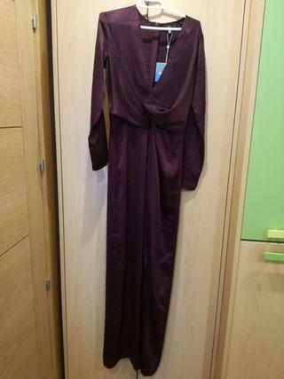 vestido largo Missguided