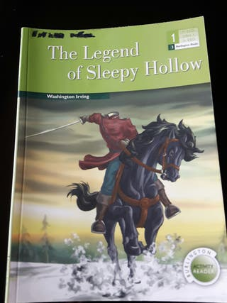 LIBRO - ENGLISH - Legend Sleepy Hollow - INGLÉS