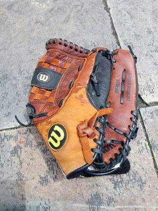 guante béisbol cuero