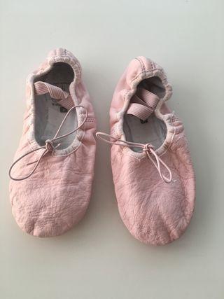 Zapatillas de ballet. Número 35