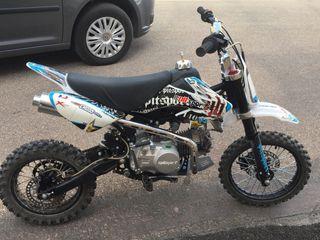 Moto de cross pit sport 140