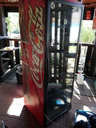 vitrina frigorifica 2,01 altura.