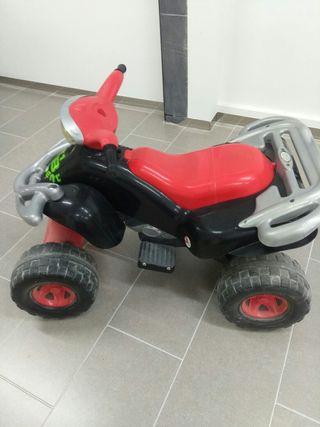 quad con bateria