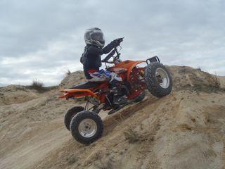 quad infantil mx onda bigger 125cc
