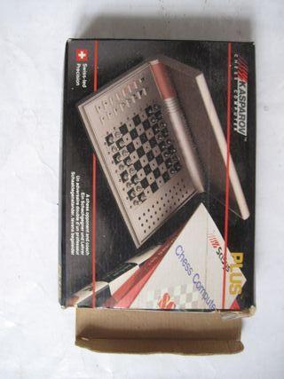 juego ajedrez electrónico kasparov