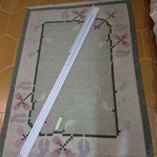 Rieles y mecanismo para paneles chinos o cortinas