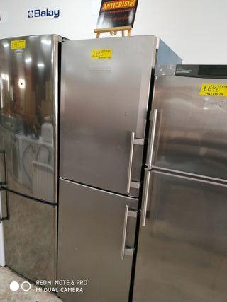 frigorífico combi Liebherr inox
