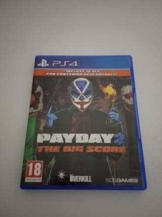Payday 2 -The Big Heist (PS4)