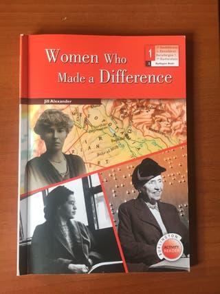 Libro Lectura 'Whomen Who Made a Difference'