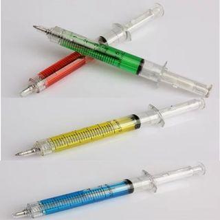 Bolígrafos jeringuillas