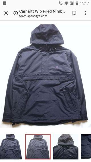 Carhartt Breezebreaker Pullover Navy