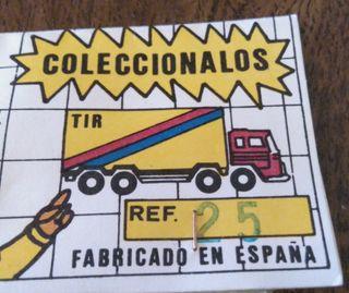 Camion con caravana y coche en blister