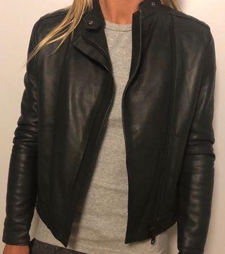 Colmar leather jacket size 8